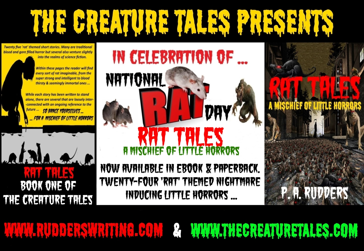 National Rat Day – Rat Tales short story collection …